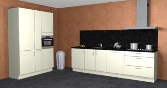 keuken parallel opstelling